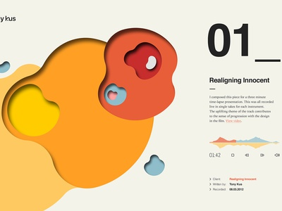 Website design for composer fluid geometric chart website icons iconography illustration typography ux ui graphic design web design