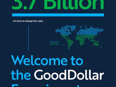 GoodDollar Branding & Website bold vector ui design website icon typography logo graphic design branding web design