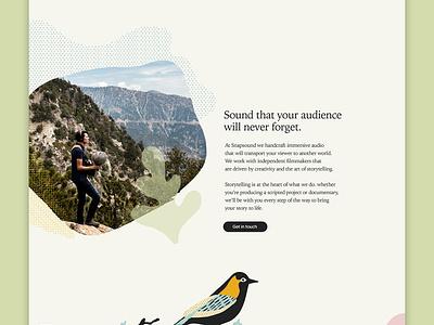 Snapsound Website web design ux icon vector paint graphic design typography ui branding website illustration