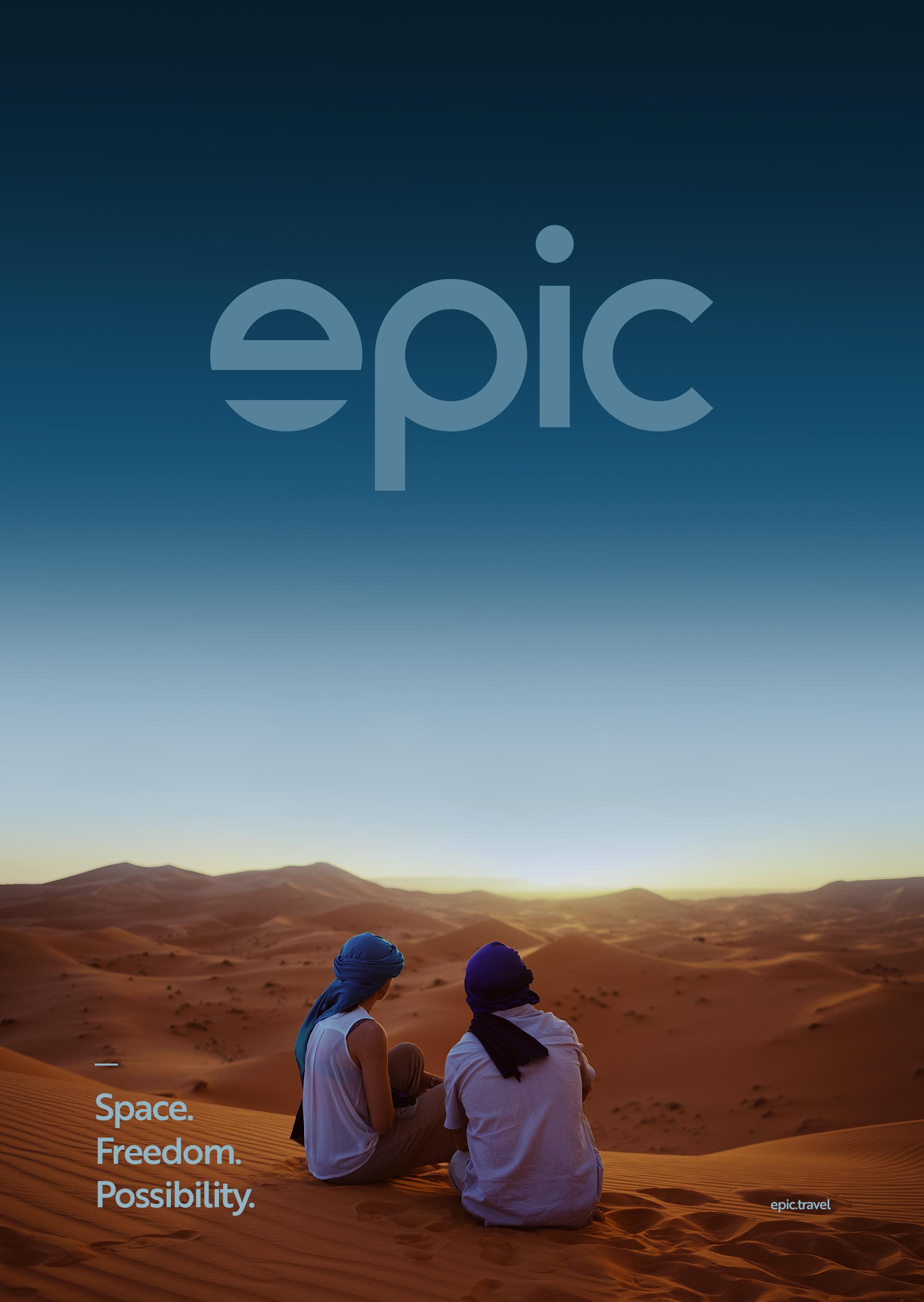 Poster desert