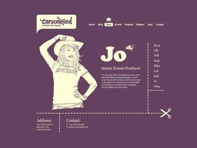 10 year old website design color carsonified ui website design typography logo web design graphic design branding illustration website