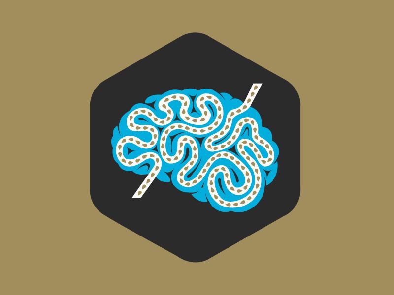 Brain typography website web design ui ux ux design ui design illustration branding website design