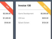 Mini Invoices (2)