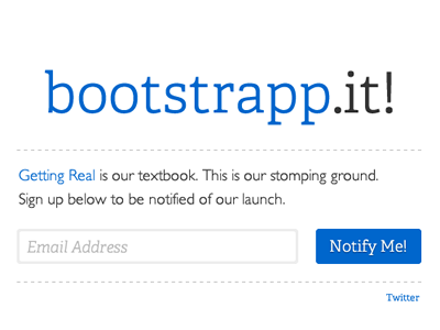 Bootstrappit s1