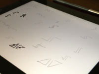 Monogram Sketches
