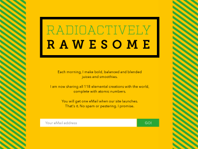 Radioactively Rawesome - Under Construction Page