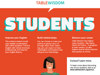 Table Wisdom _ Brochure