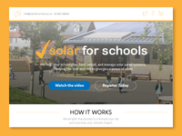 Solar for Schools_Landing Page Redesign