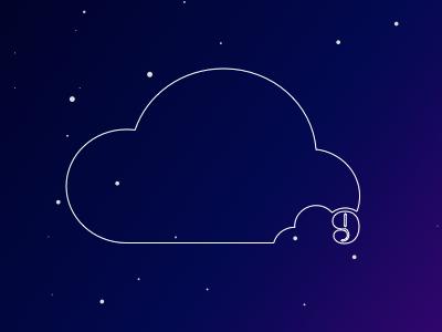 Cloud Nine Bites Logo Design bites snacks logo cloud small business