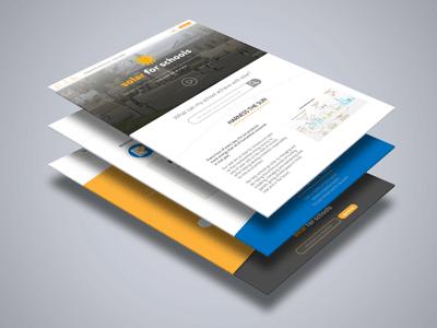 Solar for Schools_Landing Page Redesign_Version 2