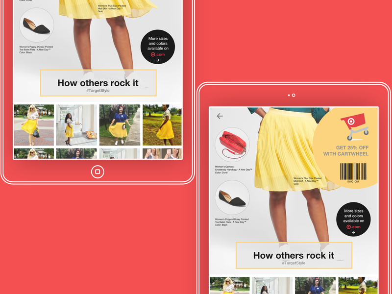 Bringing Instagram to In-Store Displays ui stores style target
