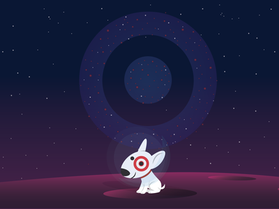 Bullseye's Home Planet gradients background desktop bullseye space dark target