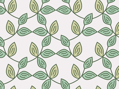 Ivy Pattern leaves surface pattern design grey concept natural organic design pattern line work green plant ivy