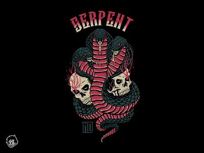 serpent bandmerch hardcore poppunk clothing brand merchandise band tshirt art illustration design clothing