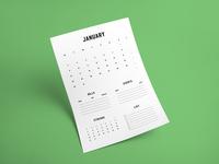 2017 Useful Calendar