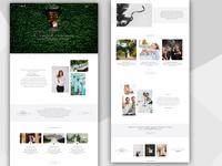 Wedding Event Landing Page