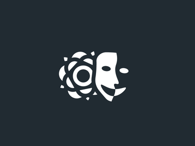 White Rose Entertainment sheffield local design icon theater theater branding branding identity logo yorkshire theatre drama entertainment