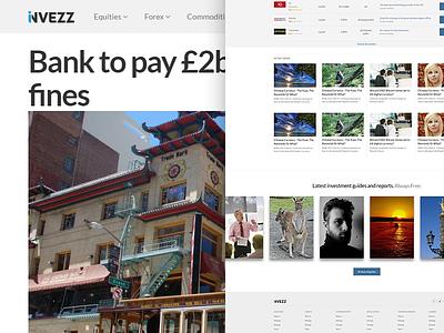Invezz Shot invezz layout redesign news