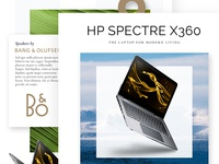 HP Spectre promo page