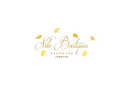 Niko Boutiques - Logo handmade vector golden gold jewelry photoshop illustration design logo branding illustrator