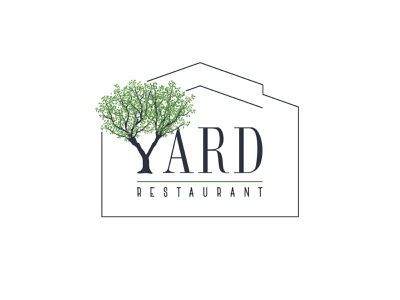 Yard - Logo green nature nature logo yard restaurant logo illustration design logo branding illustrator