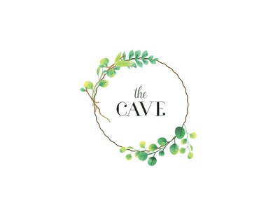 The Cave - Logo vector illustration design branding typography minimalistic restaurant logo nature logo nature logo design logo