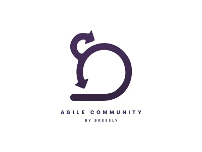 Agile Community - Logo vector illustration design branding logo illustrator