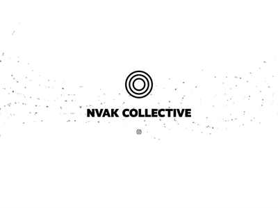 Nvak Collective - Website css illustration illustrator logo branding design typography coming soon simple landing animation ux ui
