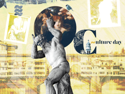 Culture Day collage art collage history photoshop photo serif font letter c typography composing lifestyle design