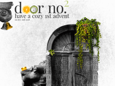 Advent Calendar: Dec2nd collages graphic arts designer orange green blackandwhite italy history collageart graphic art photo photoshop collage art instaart collage composing typography design