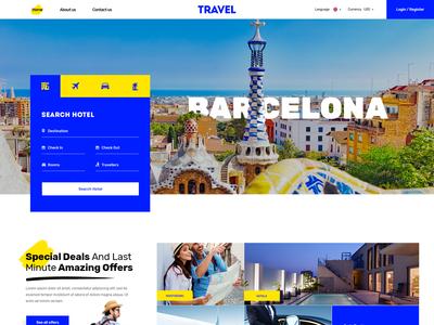 Homepage - Travel Agency