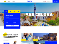 Homepage - Travel Agency