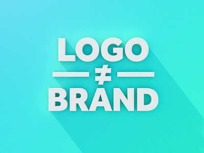 Logo Does Not Equal Brand