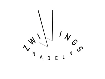 zwillingsnadeln logo label fashion logotype logo