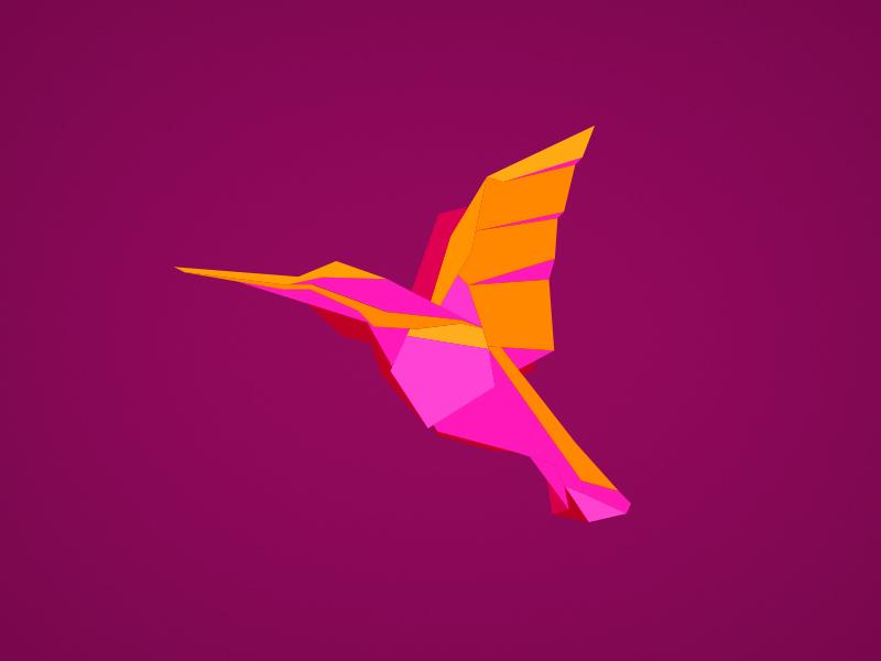birdie origami bird