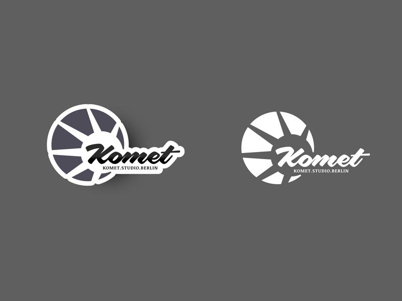 Komet Studio Logo studio komet logo
