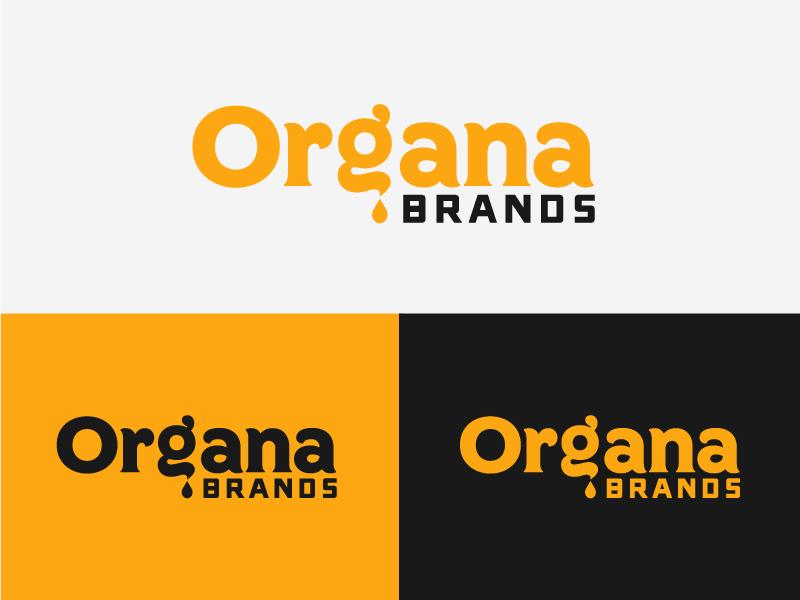Organa Brands Rebrand Direction 2 weed umbrella typography rebrand oil logotype logo family colorado cannabis branding badge