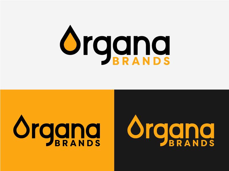 Organa Brands Rebrand Direction 3 yellow family umbrella cannabis logo brand colorado oil