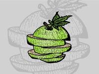 Green Apple • Strain Illustrations