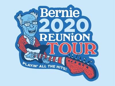 Bernie Reunion Tour Sticker