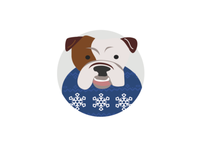 7 Office Dogs for a Happy Howliday Season: The Bulldog
