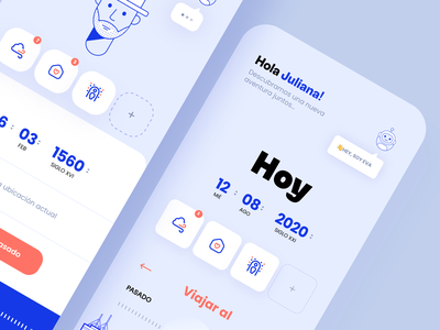 App Concept Back to the future - Home responsivedesign minimalism ux appdesign uidesign design graphicdesign graphicux uxdesignmastery uxui dribblers iosinspiration uidesigner userexperience userinterfacedesign userinterface uxigers interaction brandmark uitrends ui