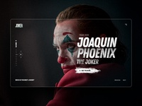 Joker - UI Design Concept concepts website interaction cx joker concept modern marketing web landing design ux ui