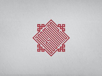 Jasmine Mark / Logo / Emblem branding mark logo emblem badge symbol jasmine arabesque