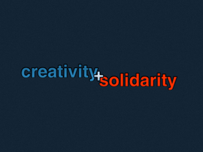 Creativity solidarity