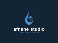 Afnane studio logo