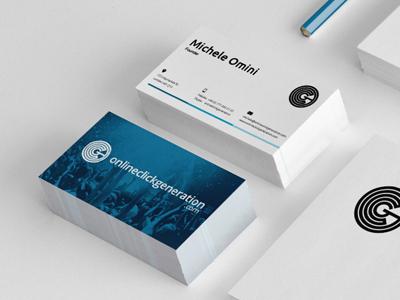 Online click generation business card by vincent koc dribbble online click gen bcard colourmoves