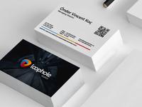 Loophole Studios Business Card Mockup