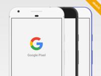 Free Google Pixel Sketch Mockup