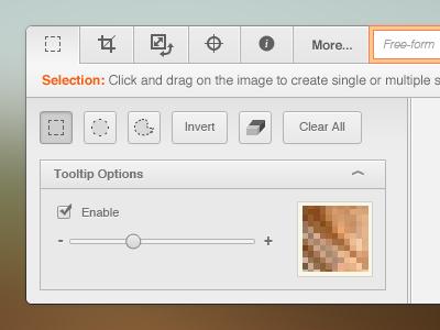 Mathematica Image Editor tabs editor interface ui design toolbar light orange wolfram mathematica application app